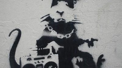 Ich habe Banksys Ratte zerstört