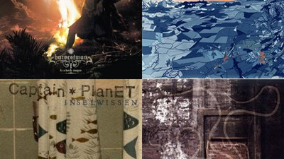 Musik Reviews - Captain Planet, Point B, Ruiner und Harvestman