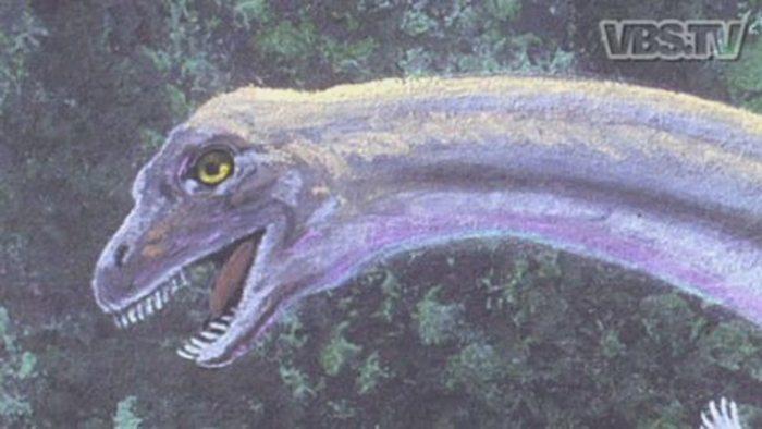 Laatste dinosaurus in Congo