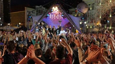 Ontreddering, adrenaline en ontroering bij het TROS muziekfeest op het plein