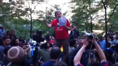 Slavoj Žižek bij Occupy Wall Street
