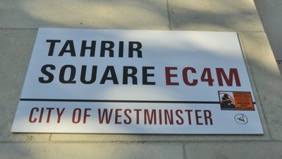 Occupy London—Die Leute wissen ungefähr, was sie wollen