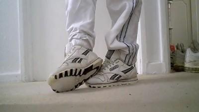 Geilen op je afgeragde sneakers