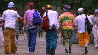Vergeten mode van de jaren negentig