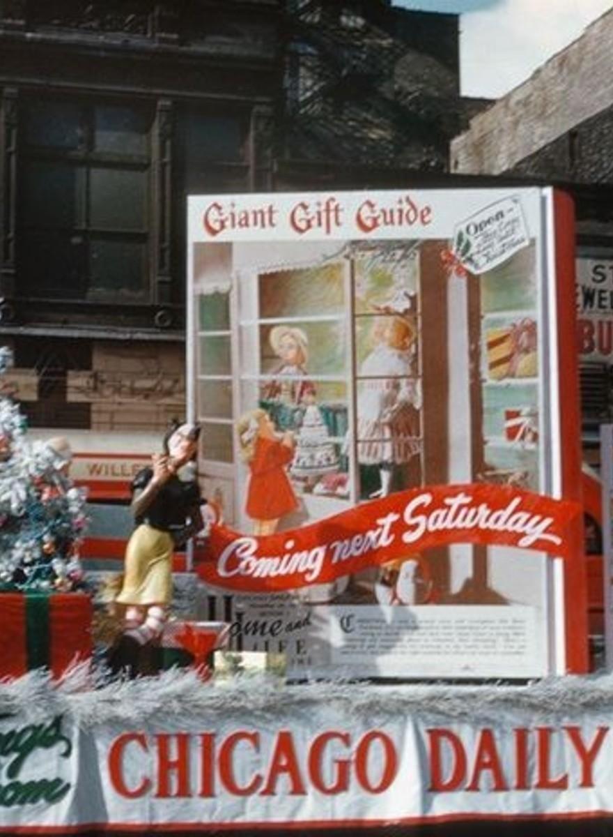Als Weihnachten noch Konsum bedeutete