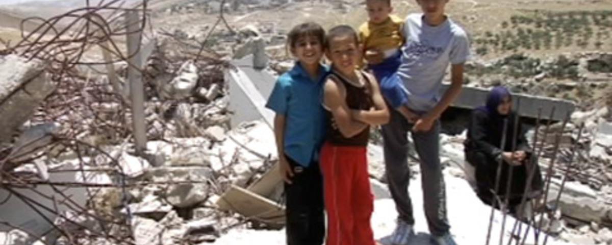 Palestine Vs. Israel - Demolition in Israel