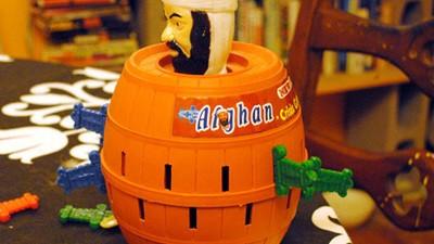 Why Is Osama bin Laden in a Barrel?