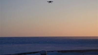 Ice Drones Over Alaska