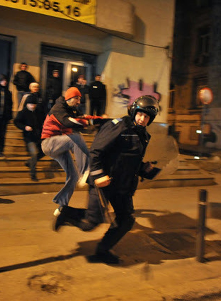 Bucharest Rioted for Healthcare