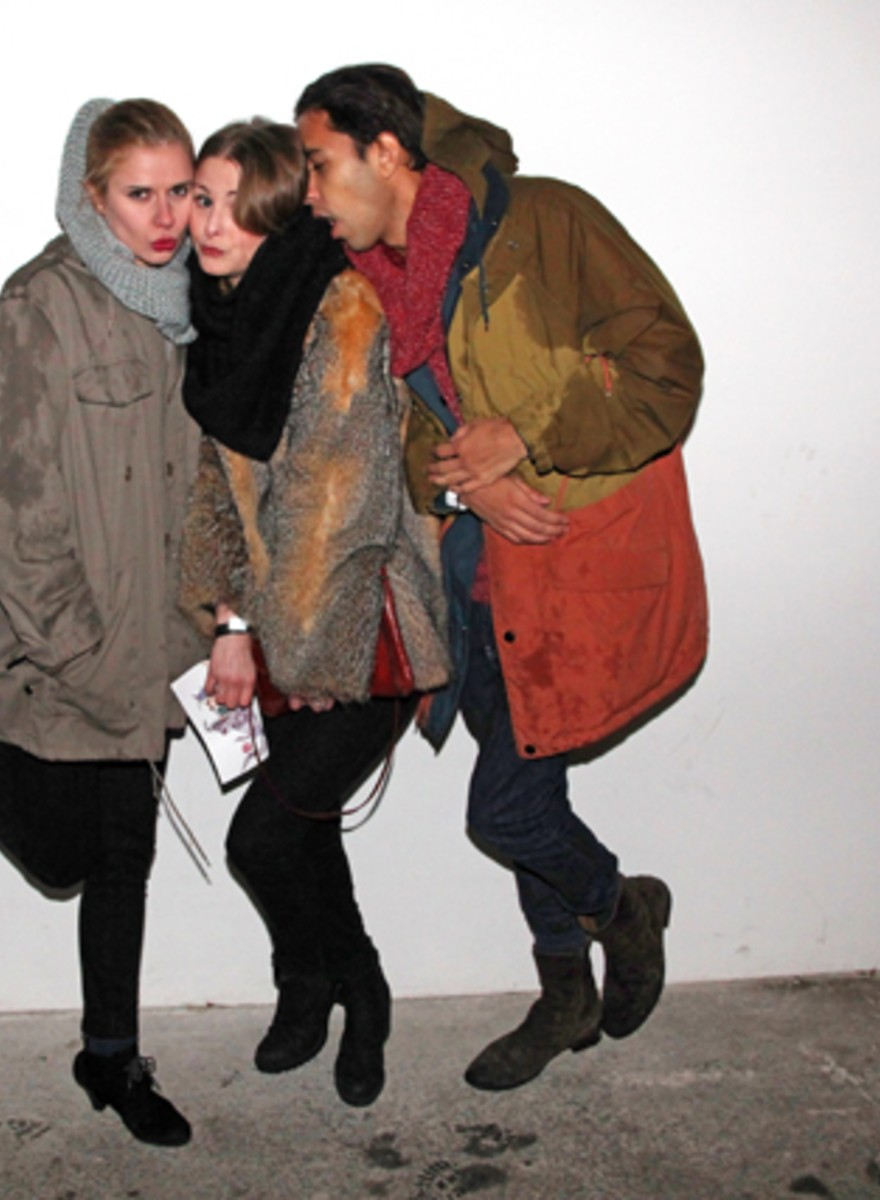Fotos unserer VICE Fashion Week Party!