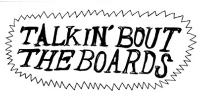 Talkin' about the Boards - I Like Reading This Shit