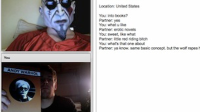 I Talked Books to Bros on Chatroulette