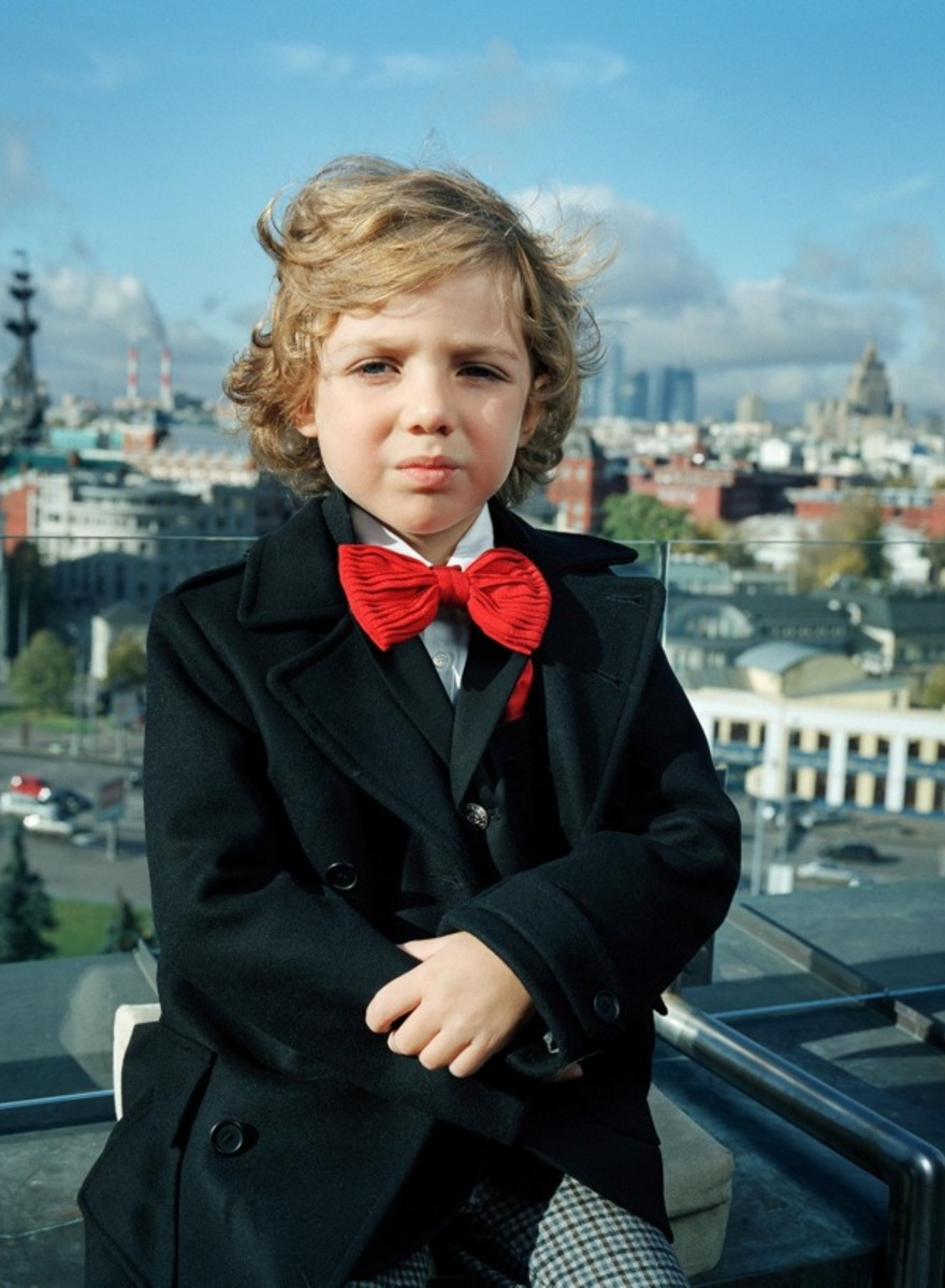 Photographing the Children of Russia's Nouveau Riche