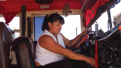 Driving a Bus in Ciudad Juarez Is Dangerous Business