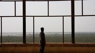 No Palácio de Saddam
