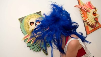 AJ Fosik e Isabel Ruiz en Vice Gallery