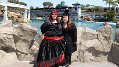 Dia Gótico na Disneylândia!
