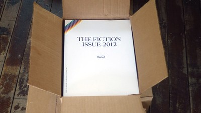It's the Fiction Issue 2012!