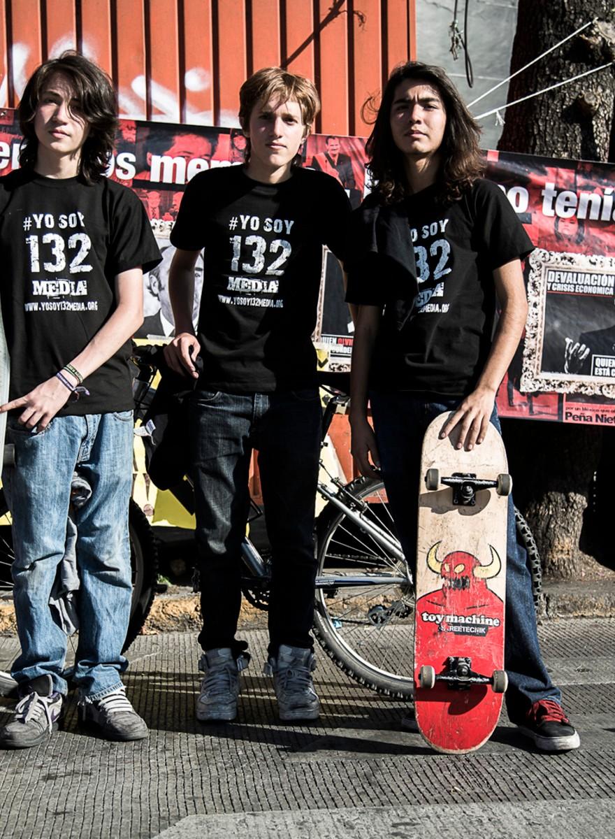 El #YoSoy132 visto por un corresponsal de guerra