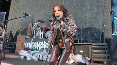 A Longhair's Dream: Alice Cooper and Iron Maiden at Jones Beach