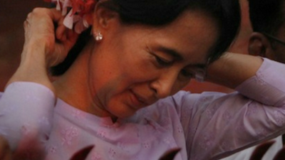 The Big Lie Behind the Flowers in Aung San Suu Kyi's Hair
