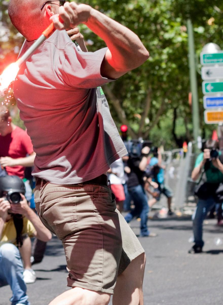 Spanische Bergleute stürmen Madrid!