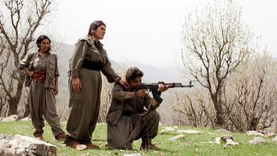 Female Fighters of Kurdistan