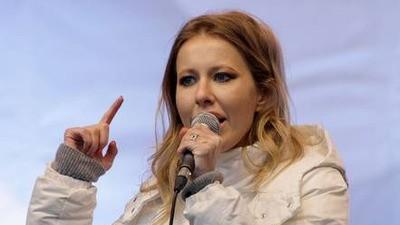 Ksenia Sobchak: The Jane Fonda of Russia's Dissident Movement