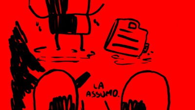 Fumetti di Maicol & Mirco - La crisi
