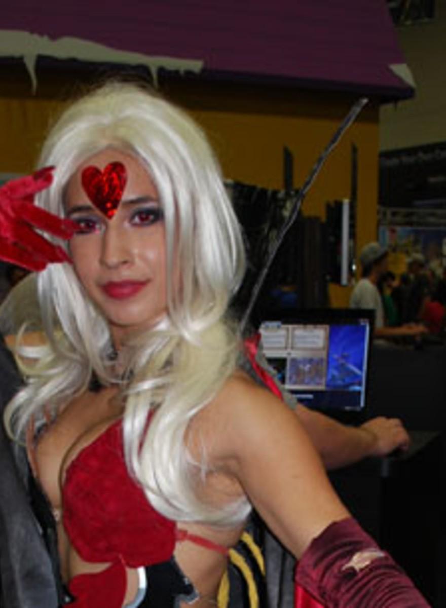 Die Babes der Comic-Con