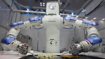 Acht etenswaren waar je van houdt, die nu door robots gemaakt worden