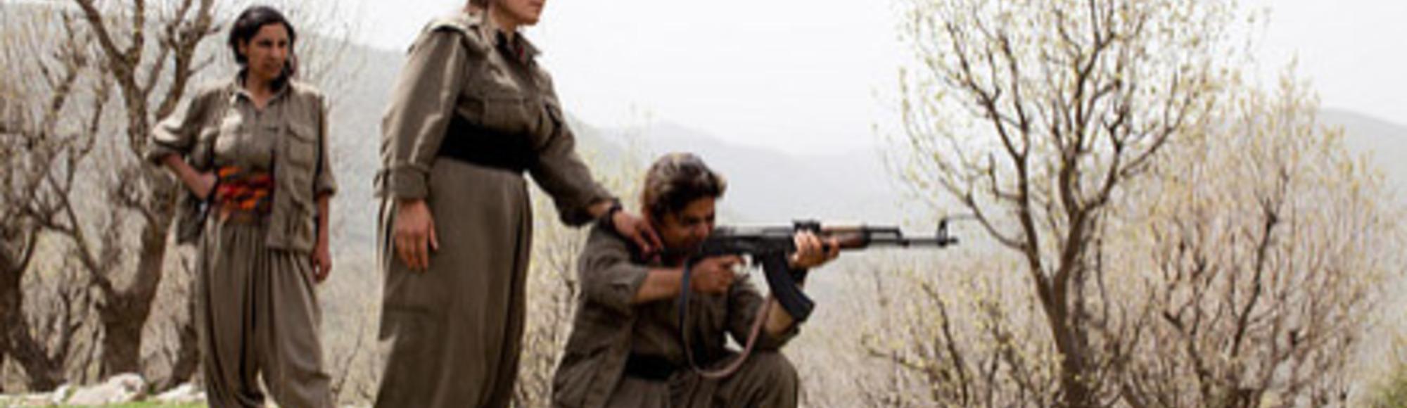 Las guerrilleras de Kurdistán