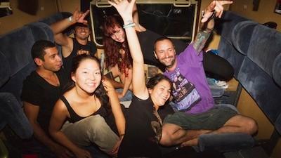 Orgies en diepzinnige gesprekken in de VICE-trein naar Sziget