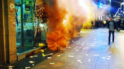 Huelga General: Primer comunicado desde Madrid