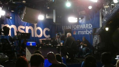 I Watched Chris Matthews Eat a Sandwich at the RNC