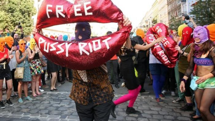 Pussy Riot's P***y Riot