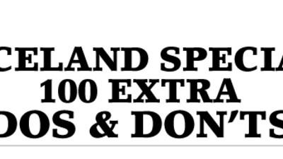 100 Extra Dos & Don'ts