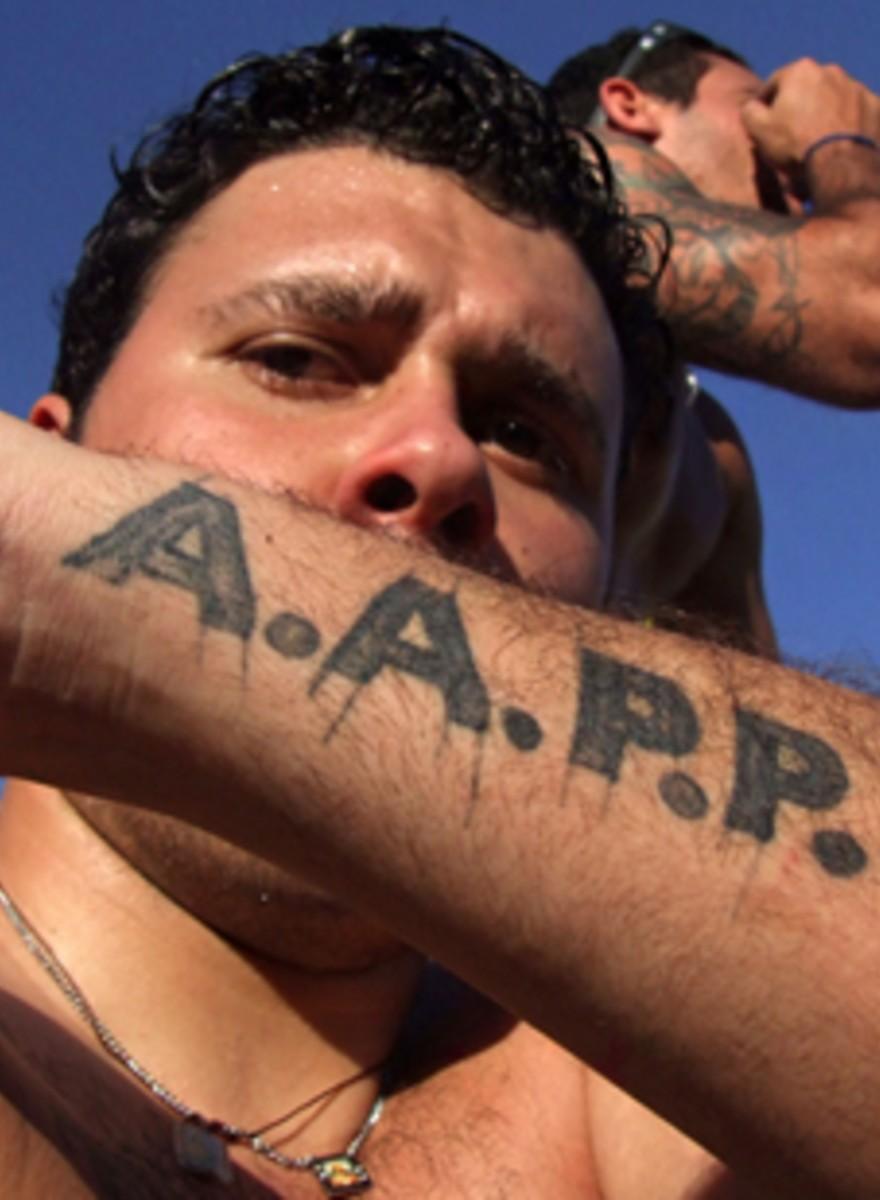 Brasilianische Fußball-Hooligans haben bessere Tattoos als du