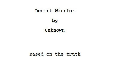 Here Is What We Believe to Be a Near-Final 2011 Draft of the Screenplay for 'Innocence of Muslims'