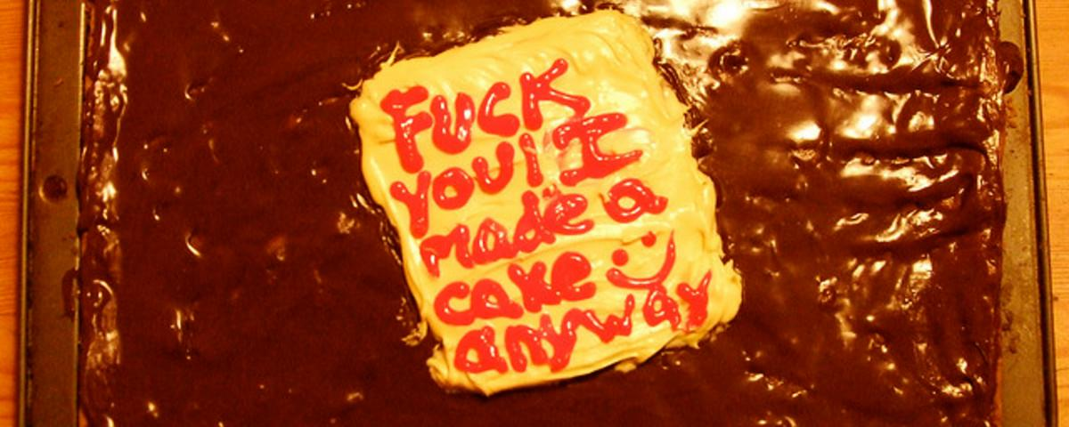 (Don't) Let Them Eat Cake