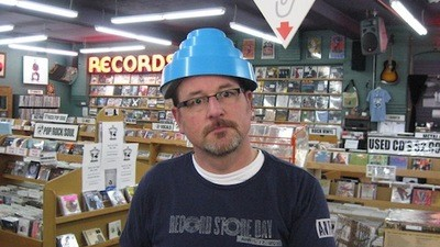 Grumpy Record Store Clerk