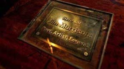 Jim Morrison's Piss Plaque