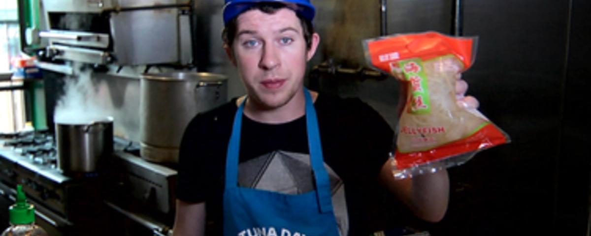 Justin Warner Makes a Salad for the Apocalypse