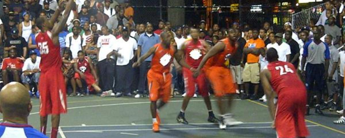 There's No Lockout in Streetball