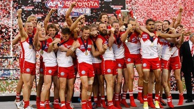 Wanking To The AFL Grand Final