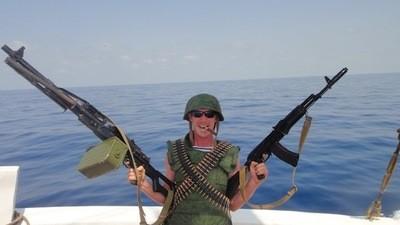 Lanciare granate ai pirati somali è un gran divertimento