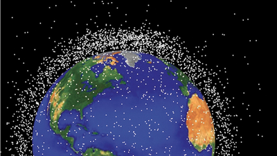 Space Garbage May Trap Us on Earth Forever