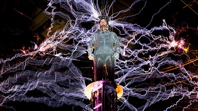 Get Electrified with David Blaine This Weekend