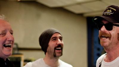 In den Rockfield Studios mit einem Zauberer
