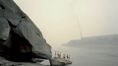 Nadav Kander et le puissant fleuve Bleu